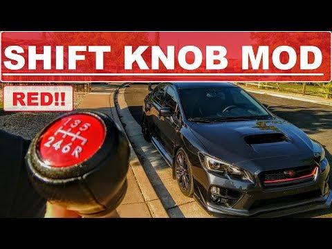 HOW TO REPAINT SHIFT KNOB // WRX/STI SHIFT KNOB MOD // 2015-2018