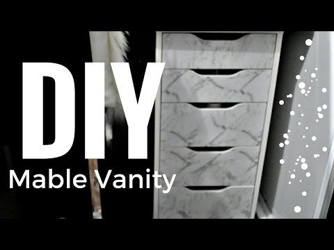DIY | Marble Vanity Drawers | How To