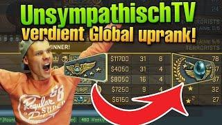 CS:GO UnsympathischTV absolut verdientes Global Uprank Match :^)