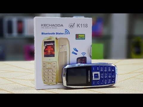 Kechaoda K118 card phone   unboxing Kechaoda K118
