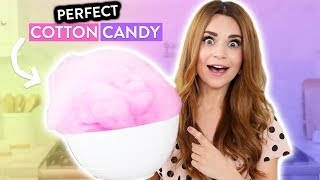 Making PERFECT Cotton Candy!