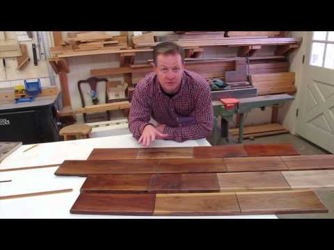 How To Finish Walnut for Great Color in Woodworking Projects