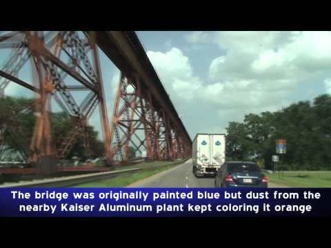 US-190 & Bridges: Baton Rouge, LA