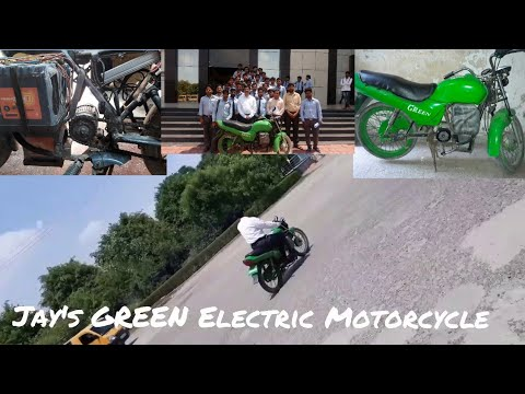 Electric Motorcycle 'GREEN' Final Amazing Ride  Part-5