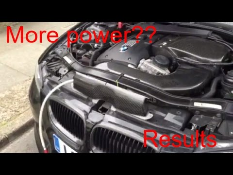 Doing A Engine Carbon clean on my BMW results???