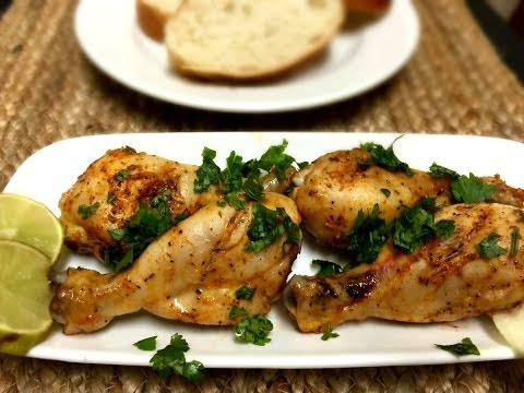 Spicy Baked Chicken Drumsticks