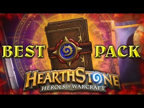BEST HEARTHSTONE PACK EVER!
