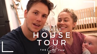 full updated house tour | the east fam