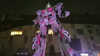 Japan Trip (2017) - Chapter 5: Gundam Base Tokyo (Life-sized Unicorn Gundam Full Transformation)