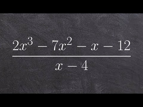 Using long division to divide two polynomials then determine the other zeros