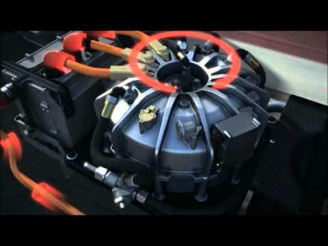 Flywheel energy storage system Porsche