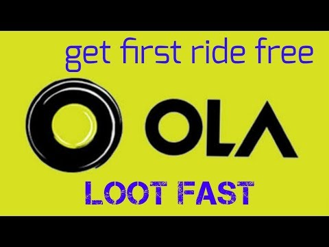 Ola first ride free