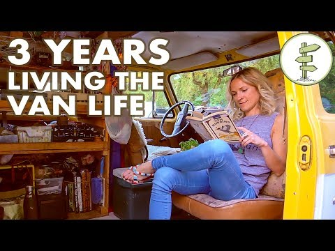 Van Life - Woman Living in a Van for 3 Years to Save Money & Travel the World