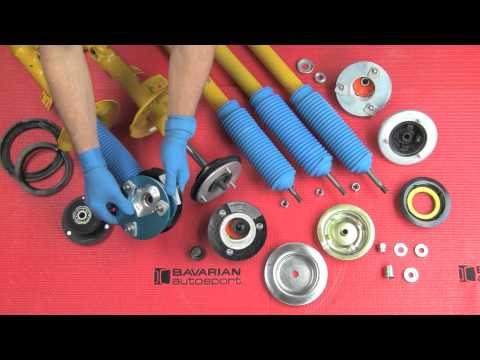 Installing adjustable front camber kits on BMWs and MINIs - How to