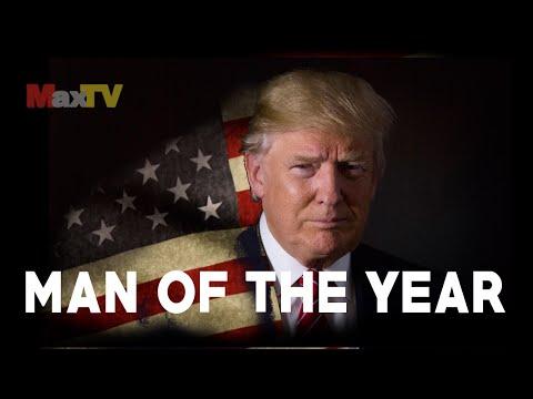 MAN OF THE YEAR - Donald J. Trump - Człowiek Roku MaxTV