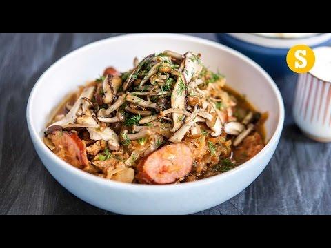 Hunter's Pork Stew... Bigos Recipe