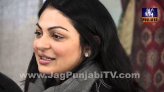 Neeru Bajwa in Press Conference Calgary for Channo Punjabi Film