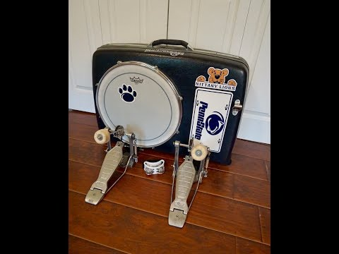 Penn State Suitcase Kick Drum