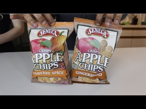 Apple Chips, Harvest spice & Gingerbread Food Review