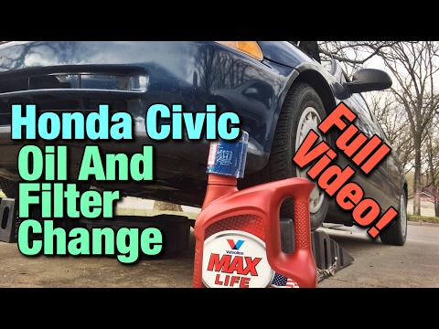 How To Change Oil On A Honda Civic