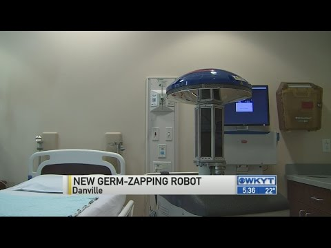 Danville hospital first to get cleaning robot