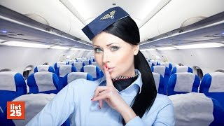 25 SECRETS Flight Attendants Know That You Don