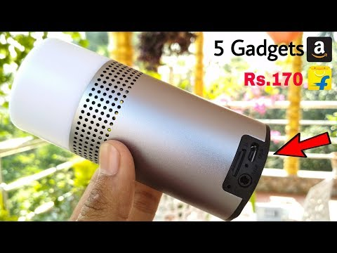 5 CooL Gadgets for OUR DAILY LIFE Rs.170 | You Can Buy on Amazon ✅ NEW TECHNOLOGY HITECH GADGETS