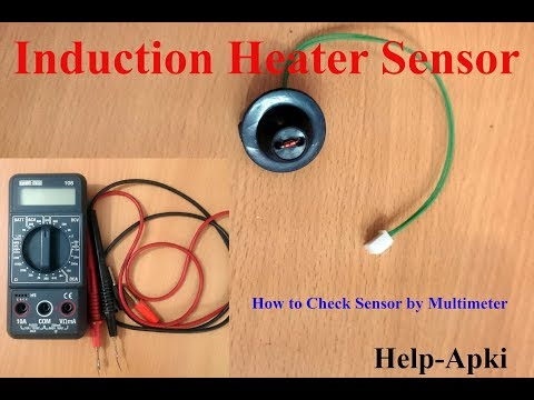 How to Check Temperature Sensor of Induction Cooker by Multi meter