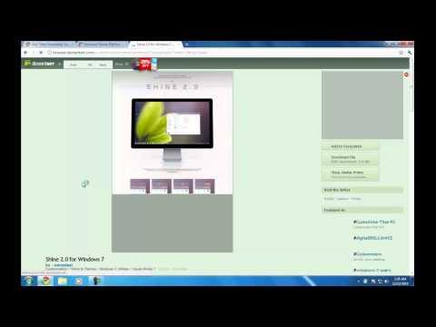 How to get Custom Windows 7 Themes for Windows 7