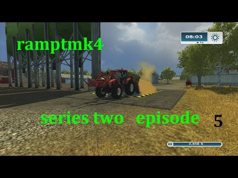 Farming Simulator 2013 Xbox 360 series 2 ,ep 5 seed and a mission grind