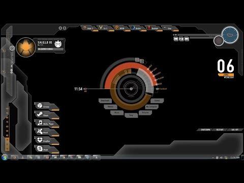 How to set Avenger Shield theme for your desktop on Windows 7