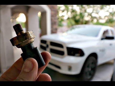 How to Change Oil Pressure Sensor (2013 Dodge Ram 1500 Hemi)