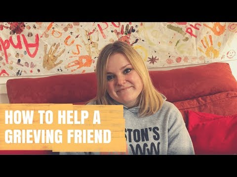 How to help a grieving friend | Advice from Winston's Wish
