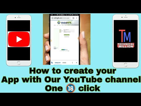 How to create our YouTube Channel Android App with easy step.