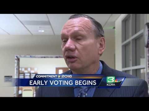 Voting in California begins
