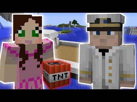 Minecraft: THE CAPTAIN'S BOAT EXPLOSION MISSION - Custom Mod Challenge [S8E1]