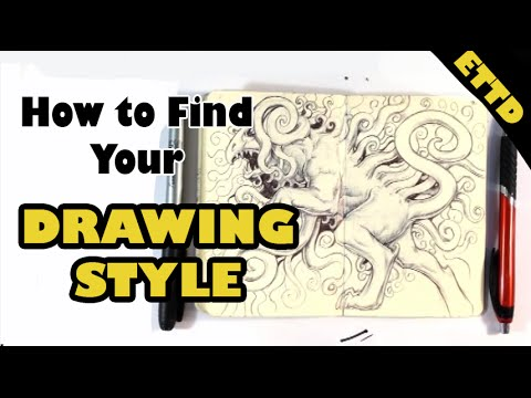 4 Tips on Finding Your Drawing Style - Easy Things to Draw