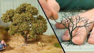Wire Tree Tutorial – Model Railroad