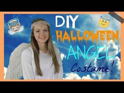 Easy, Cute, DIY Halloween Angel Costume!