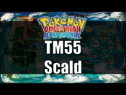 Pokemon Omega Ruby & Alpha Sapphire | Where to get TM55 Scald