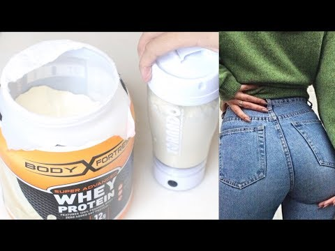 ULTIMATE WEIGHT GAIN SHAKE! Gain weight Fast and Grow a bigger bum