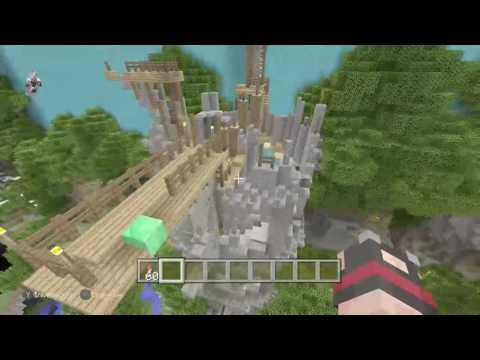 Minecraft Console: Giants Glide Map Pack Close Look