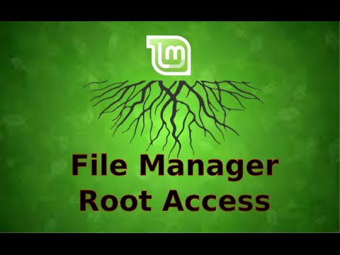 Root Access to the File Manager in Linux Mint 17.2