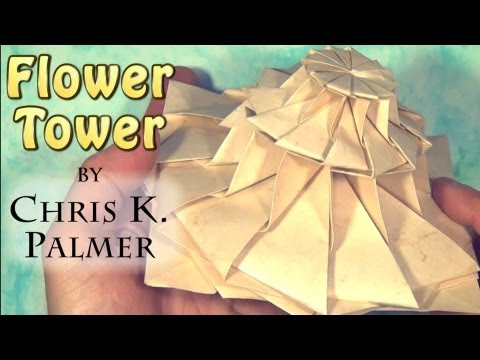 Flower Tower by Chris K. Palmer (Tutorial)