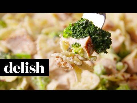 Chicken & Broccoli Bowties | Delish