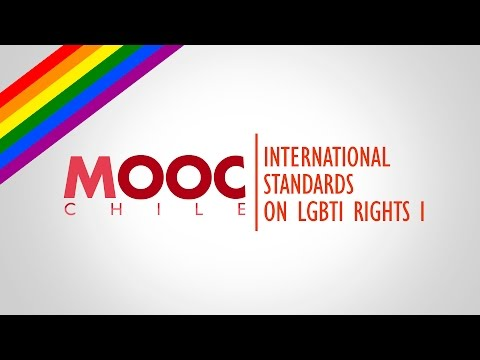 Gender Equality & Sexual Diversity | Lesson 16: International Standards on LGBTI Rights I