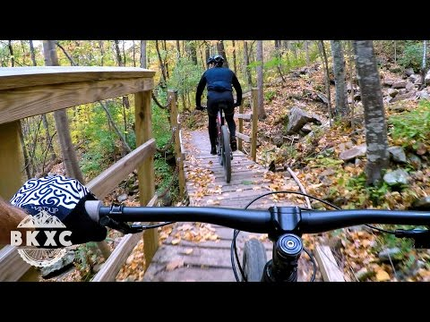 Mountain Biking Racoon Mountain with Cody from Handup Gloves in Chattanooga