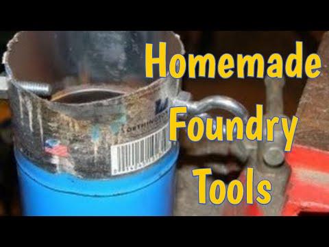 Homemade Foundry Tools