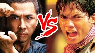 Martial Arts Legends - Tony Jaa vs Donnie Yen!