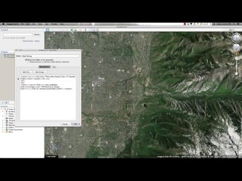 Introduction to Google Earth - Part 2 Creating Folders